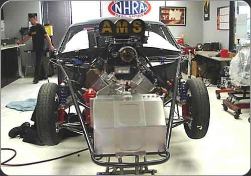 Drag Racing Struts and Spindles - Santhuff Suspension
